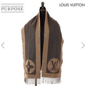LOUIS VUITTON | Authentic unisex scarf